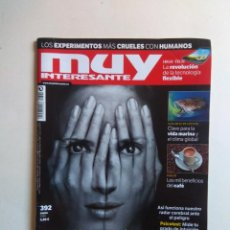Coleccionismo de Revista Muy Interesante: REVISTA MUY INTERESANTE Nº 392. Lote 137217194