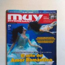 Coleccionismo de Revista Muy Interesante: REVISTA MUY INTERESANTE Nº 373. Lote 137218290