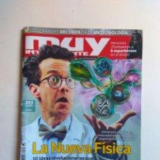 Coleccionismo de Revista Muy Interesante: REVISTA MUY INTERESANTE Nº 393. Lote 137218450