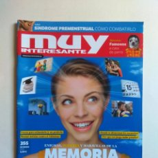 Coleccionismo de Revista Muy Interesante: REVISTA MUY INTERESANTE Nº 355. Lote 137218714