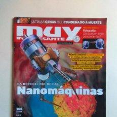 Coleccionismo de Revista Muy Interesante: REVISTA MUY INTERESANTE Nº 365. Lote 137218942
