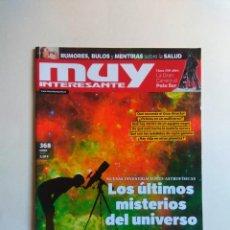 Coleccionismo de Revista Muy Interesante: REVISTA MUY INTERESANTE Nº 368. Lote 137218946