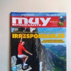 Coleccionismo de Revista Muy Interesante: REVISTA MUY INTERESANTE Nº 362. Lote 137219710