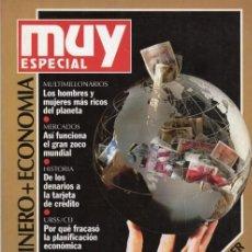 Coleccionismo de Revista Muy Interesante: MUY INTERESANTE ESPECIAL NÚMERO 10. DINERO Y ECONOMÍA. Lote 137343354