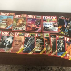 Colecionismo da Revista Muy Interesante: LOTE REVISTAS MUY INTERESANTE. Lote 139728980