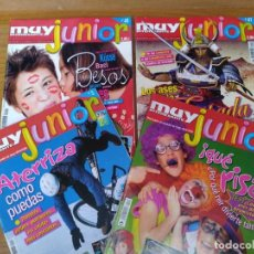 Coleccionismo de Revista Muy Interesante: COLECCION MUY JUNIOR VARIOS NUMEROS. Lote 140150142