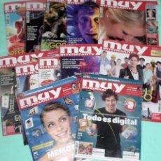 Coleccionismo de Revista Muy Interesante: REVISTA MUY INTERESANTE - LOTE DE 12 REVISTAS AÑO 2010 COMPLETO. Lote 140436038