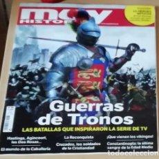 Coleccionismo de Revista Muy Interesante: LAS OTRAS GUERRAS DE TRONOS EN REVISTA MUY HISTORIA NÚMERO 86. Lote 141273154
