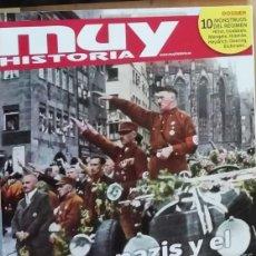 Coleccionismo de Revista Muy Interesante: LOS NAZIS Y EL HOLOCCAUSTO EN REVISTA MUY HISTORIA NÚMERO 88. Lote 141273190