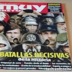 Coleccionismo de Revista Muy Interesante: BATALLAS DECISIVAS DE LA HISTORIA EN REVISTA MUY HISTORIA NÚMERO 28. Lote 155398866