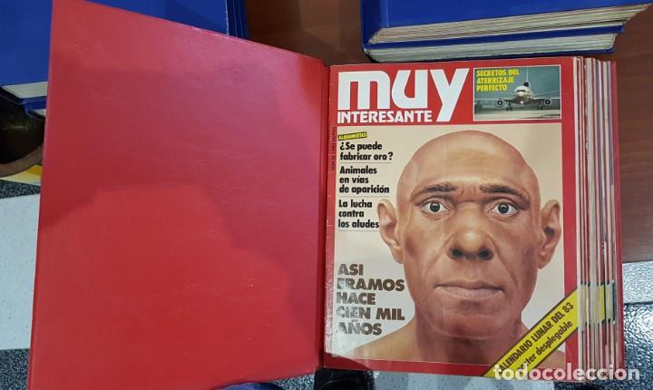 Coleccionismo de Revista Muy Interesante: TOMO ENCUADERNADO DE LA REVISTA MUY INTERESANTE (Nº20,21,22,23,24,25,26,27,28,29,30,31,32) - Foto 2 - 141471414