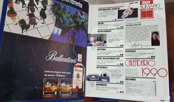 Coleccionismo de Revista Muy Interesante: TOMO ENCUADERNADO DE LA REVISTA MUY INTERESANTE (Nº104,105,106,107,108,109,110,111,112,113,114,115) - Foto 2 - 141471626