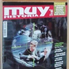 Coleccionismo de Revista Muy Interesante: MAGNICIDIOS EN REVISTA MUY HISTORIA NÚMERO 49. Lote 141896810