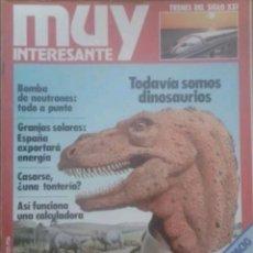 Coleccionismo de Revista Muy Interesante: REVISTA N°4 MUY INTERESANTE 1981. Lote 142739564