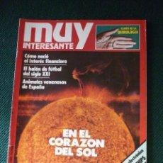 Coleccionismo de Revista Muy Interesante: REVISTA MUY INTERESANTE Nº 13. Lote 142755814