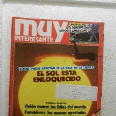 Coleccionismo de Revista Muy Interesante: MUY INTERESANTE REVISTA Nº 103 - DICIEMBRE 1989 - TABACO, UN VICIO EN EXTINCIÓN. Lote 143338986
