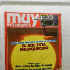 Coleccionismo de Revista Muy Interesante: MUY INTERESANTE REVISTA Nº 103 - DICIEMBRE 1989 - EL SOL ESTA ENLOQUECIDO . Lote 143339158