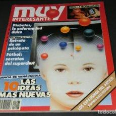 Coleccionismo de Revista Muy Interesante: REVISTA MUY INTERESANTE Nº 95 ABRIL 1989 - INCLUYE POSTER DESPLEGABLE. Lote 143736970