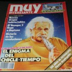Coleccionismo de Revista Muy Interesante: REVISTA MUY INTERESANTE Nº 98 JULIO 1989 - INCLUYE POSTER DESPLEGABLE. Lote 143738002