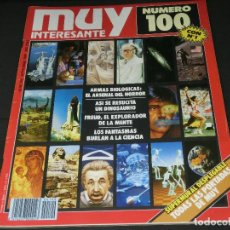 Coleccionismo de Revista Muy Interesante: REVISTA MUY INTERESANTE Nº 100 SEPTIEMBRE 1989. Lote 143739574