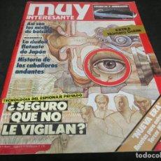 Coleccionismo de Revista Muy Interesante: REVISTA MUY INTERESANTE Nº 089 - 89 OCTUBRE 1988. Lote 147243366