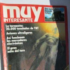 Coleccionismo de Revista Muy Interesante: MUY INTERESANTE REVISTA Nº 16 - SEPTIEMBRE 1982. Lote 148842062
