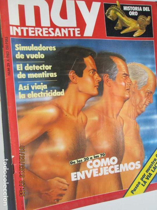 MUY INTERESANTE REVISTA Nº 29 OCTUBRE 1983 (Coleccionismo - Revistas y Periódicos Modernos (a partir de 1.940) - Revista Muy Interesante)