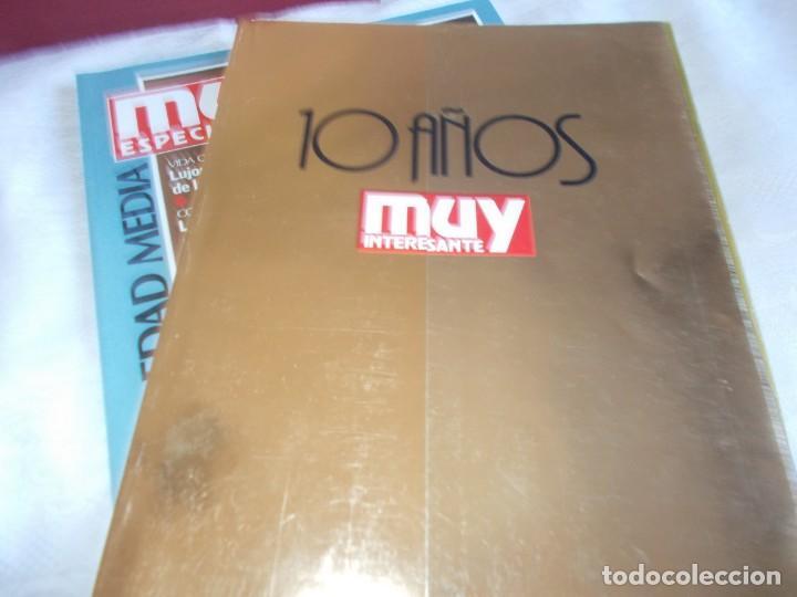 Coleccionismo de Revista Muy Interesante: MUY ESPECIAL Archivador con 12 Revistas - Foto 4 - 149729754