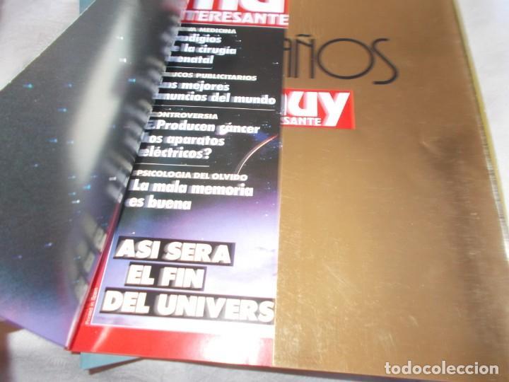 Coleccionismo de Revista Muy Interesante: MUY ESPECIAL Archivador con 12 Revistas - Foto 5 - 149729754