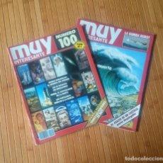 Coleccionismo de Revista Muy Interesante: REVISTA MUY INTERESANTE - NUMERO 100 SEPTIEMBRE 1989 - CON FACSIMIL NÚMERO 1. Lote 150636794