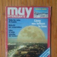 Coleccionismo de Revista Muy Interesante: REVISTA MUY INTERESANTE - NUMERO 6. Lote 150637726