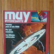 Coleccionismo de Revista Muy Interesante: REVISTA MUY INTERESANTE - NUMERO 27 - AGOSTO 1983. Lote 150638198