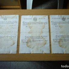 Coleccionismo de Revista Muy Interesante: DOCUMENTOS DE 1782. Lote 150701738