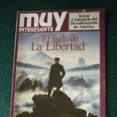 Coleccionismo de Revista Muy Interesante: MUY INTERESANTE. TERCER CENTENARIO DEL DESCUBRIMIENTO DE AMÉRICA. Lote 150807046
