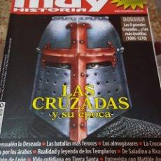 Coleccionismo de Revista Muy Interesante: REVISTA MUY HISTORIA NUMERO 1 - LAS CRUZADAS Y SU EPOCA. Lote 151158742