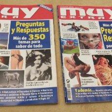 Coleccionismo de Revista Muy Interesante: LOTE DE DOS REVISTAS DE: MUY EXTRA, COLECCIÓN DE MUY INTERESANTE, EDICION DE VERANO 2003 Y 2005. . Lote 151422922