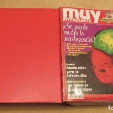 Coleccionismo de Revista Muy Interesante: 11 REVISTAS MUY INTERESANTE: 165, 166, 167, 168, 169, 171, 172, 173, 174, 204 Y 228 CON ARCHIVADOR.. Lote 151872602