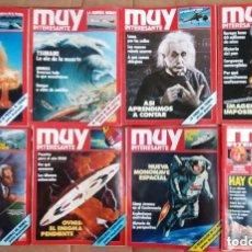 Coleccionismo de Revista Muy Interesante: 44 REVISTAS MUY INTERESANTE. Lote 155632826