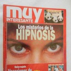 Coleccionismo de Revista Muy Interesante: MUY INTERESANTE , LOS MISTERIOS DE LA HIPNOSIS Nº 170 JULIO 1995 . Lote 156392718