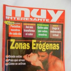 Coleccionismo de Revista Muy Interesante: MUY INTERESANTE ,ZONAS EROGENAS , Nº 182 JULIO 1998. Lote 156393650
