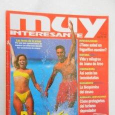 Coleccionismo de Revista Muy Interesante: MUY INTERESANTE , PSICOLOGIA DE LA PLAYA - Nº 183 AGOSTO 1996. Lote 156396030