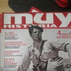 Coleccionismo de Revista Muy Interesante: MUY HISTORIA-ENIGMAS DE LA GUERRA CIVIL ESPAÑOLA-2 UNI. Lote 156695330