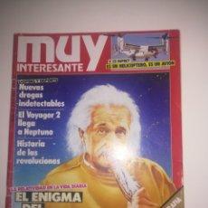 Coleccionismo de Revista Muy Interesante: REVISTA MUY INTERESANTE NÚMERO 98 - AÑO 1989. Lote 156786530