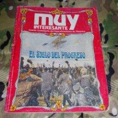 Coleccionismo de Revista Muy Interesante: REVISTA MUY INTERESANTE SUPLEMENTO DEL NUM 125. OCTUBRE 1982. EL SIGLO DEL PROGRESO. Lote 158971482