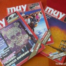 Coleccionismo de Revista Muy Interesante: MUY INTERESANTE NºS 126, 127 Y 129 DICIEMBRE NOVIEMBRE 1991 FEBRERO 1992. Lote 161680142