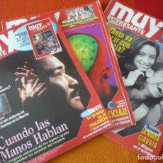 Coleccionismo de Revista Muy Interesante: MUY INTERESANTE NºS 164, 165 Y 166 ENERO FEBRERO MARZO 1995. Lote 161680366