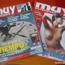 Coleccionismo de Revista Muy Interesante: MUY INTERESANTE NºS 176 Y 177 ENERO FEBRERO 1996. Lote 161681062