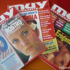 Coleccionismo de Revista Muy Interesante: MUY INTERESANTE NºS 180, 181 Y 182 MAYO JUNIO JULIO 1996. Lote 161681274