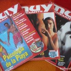 Coleccionismo de Revista Muy Interesante: MUY INTERESANTE NºS 183, 184 Y 185 AGOSTO SEPTIEMBRE OCTUBRE 1996. Lote 161681486