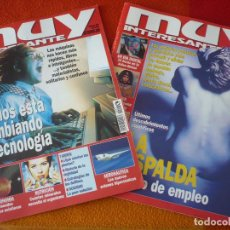 Coleccionismo de Revista Muy Interesante: MUY INTERESANTE NºS 208 Y 209 SEPTIEMBRE OCTUBRE 1998. Lote 161747270